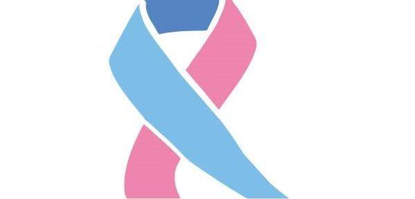 Różowo-niebieska wstążka
