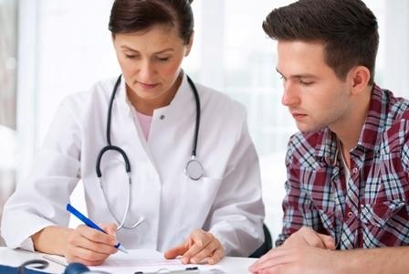 badanie po poronieniu dla mężczyzny